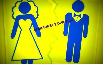 Permiso de residencia y divorcio